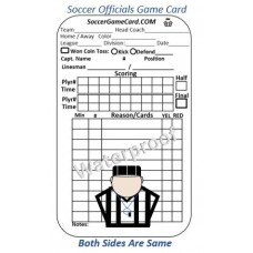 Soccer Referee Card – Reusable Soccer Referee Score Card
